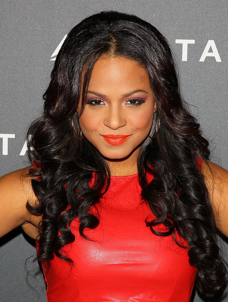 Christina Milian at Delta's Grammys Preparty
