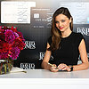 Miranda Kerr In Black Dress At David Jones In Melbourne