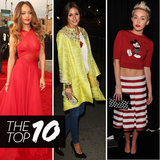 Top Ten Best Dressed of the Week: Rihanna, Olivia, Miley & More!