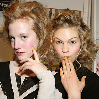 Lela Rose Hair and Makeup | Fashion Week Fall 2013