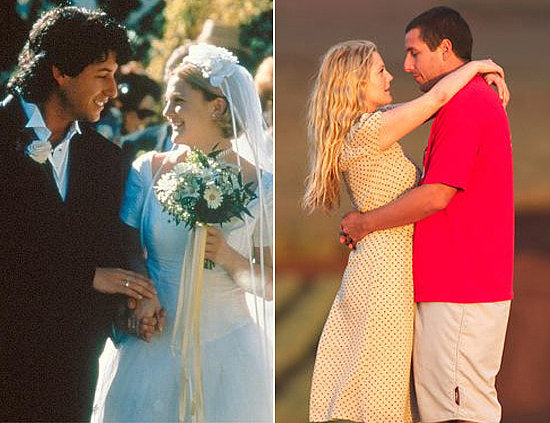 Adam Sandler and Drew Barrymore | Movie Couples: Stars Who ...