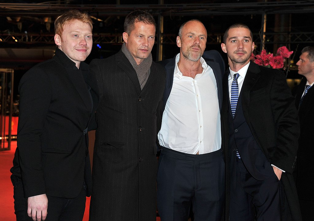 Rupert Grint, Til Schweiger, Fredrik Bond, and Shia LaBeouf premiered their film on Saturday in Berlin.