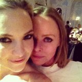Stella McCartney shared a photo with Kate Hudson at the Elle Style Awards. Source: Instagram user StellaMcCartney