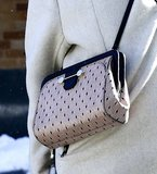 A ladylike Jason Wu bag featuring a sweet polka-dot print.