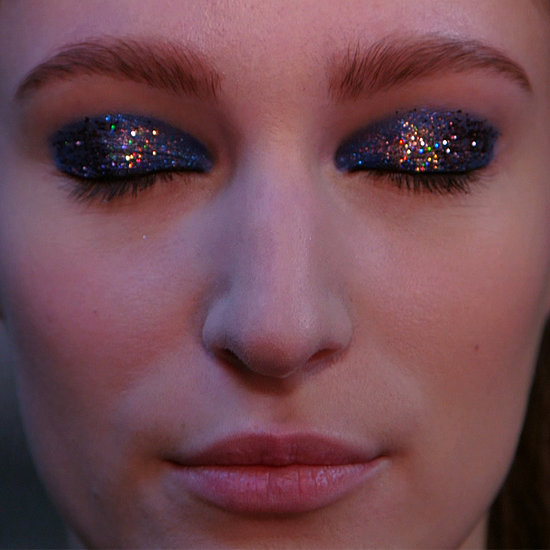 Backstage Video of Thakoon Glitter Eyeshadow Fashion Week