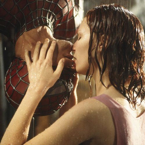 Movie and TV Kisses in the Rain (Video)