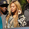 Beyonce and Jay-Z at Lunch After the Grammys
