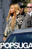 Beyonce Knowles stepped out for lunch in LA.