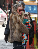 Sienna Miller took Marlowe Sturridge to an NYC park.