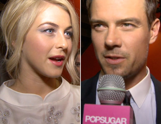 Julianne and Josh Talk Valentine's Day Plans, J Lo Stops a Crasher, and More Headlines