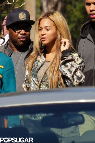 Beyonce Knowles stepped out in LA.