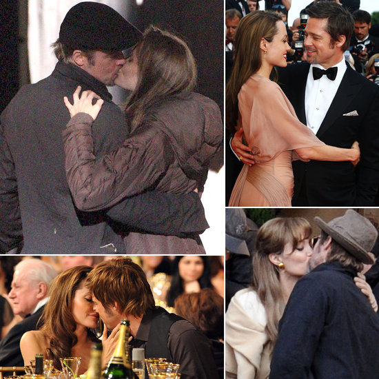 See Brad Pitt and Angelina Jolie's Hottest PDA Moments