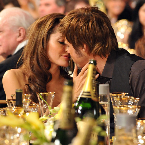 Brad Pitt and Angelina Jolie's Best PDA Moments   Pictures