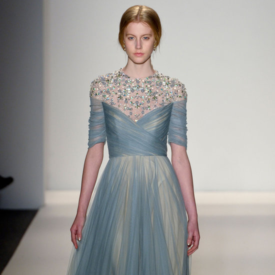 Jenny Packham Fall 2013 Runway
