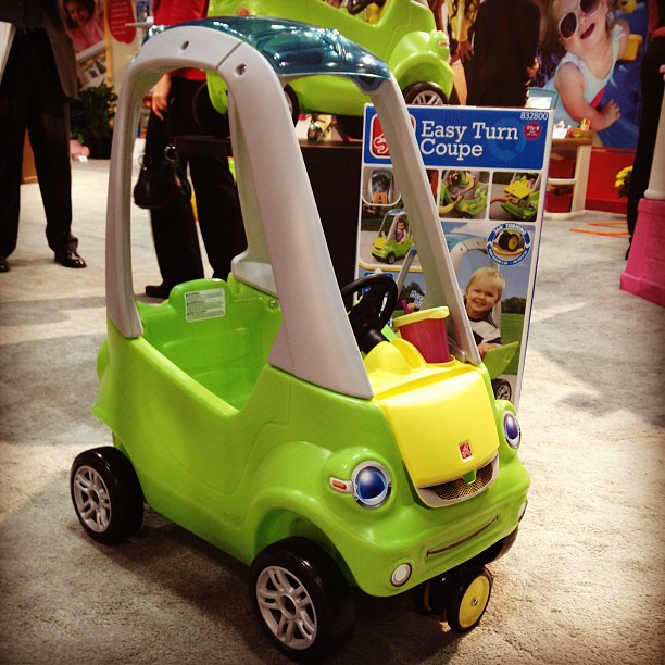 Step2 introduced the Easy Turn Coupe, which has an extra swivel front wheel for ease of steering.