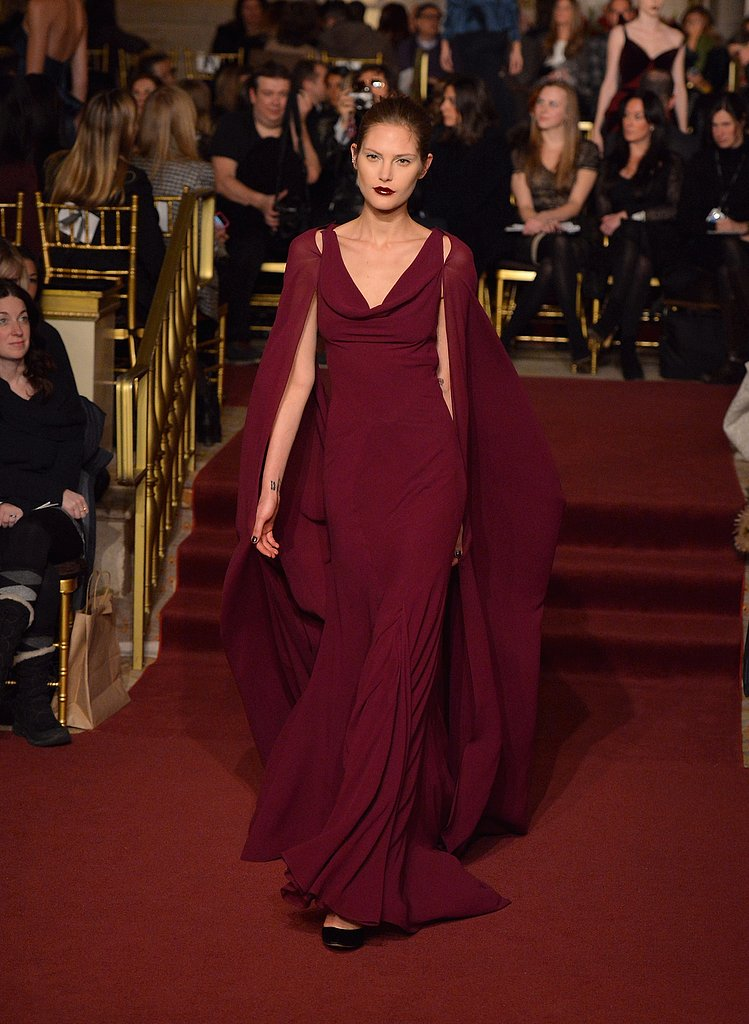2013 Fall New York Fashion Week: Zac Posen