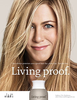 Jennifer Aniston's Living Proof Advertisement