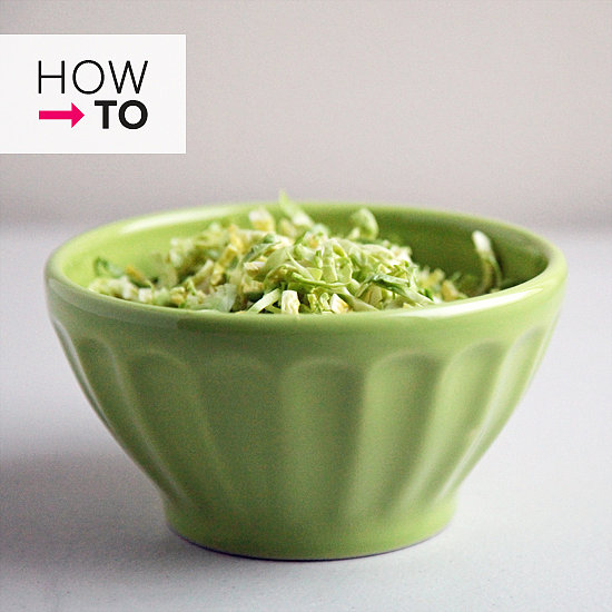 How to Shred Brussels Sprouts Without a Food Processor