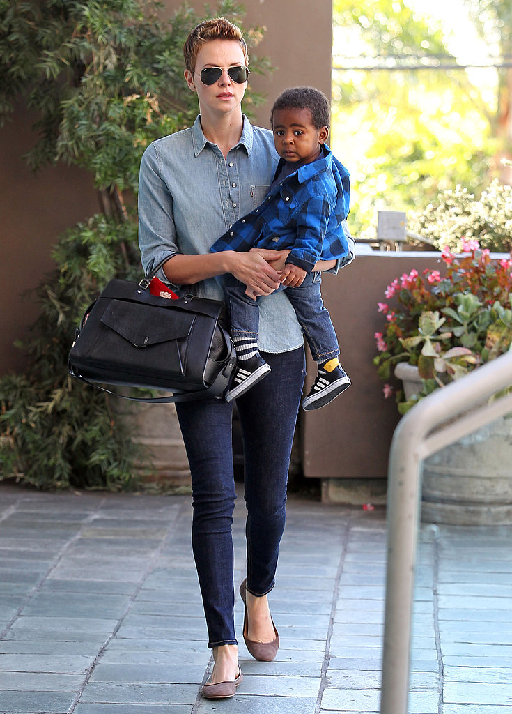 Charlize Theron took her son, Jackson, to
