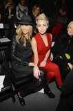 Miley Cyrus Brings a Bright Look to NYFW With Her Mum Tish