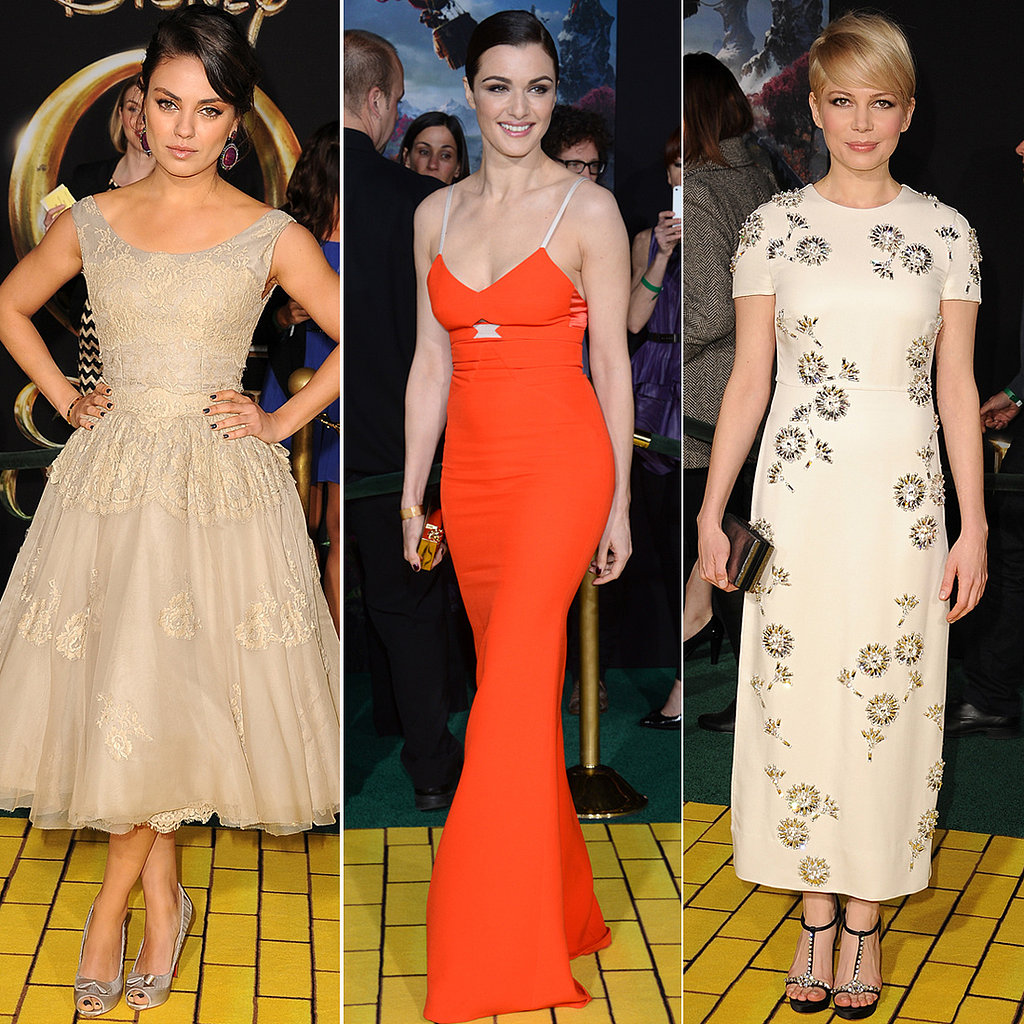 Mila, Michelle, and Rachel Turn It on For Oz's Hollywood Premiere