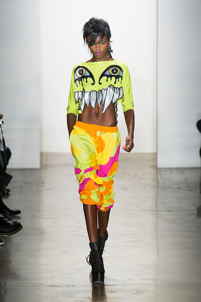 Jeremy Scott Fall 2013 Runway
