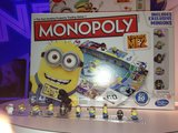 "Check out the adorable ""minions"" that come with Despicable Me 2 Monopoly!"