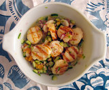 Grilled Scallop Ceviche