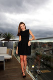 Miranda Kerr Shows Off Her Great Hair at Bondi Beach