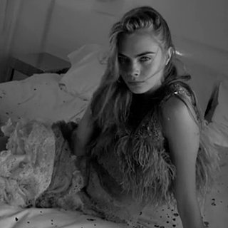 "Love Magazine's ""In Bed With Cara Delevingne"" Video"