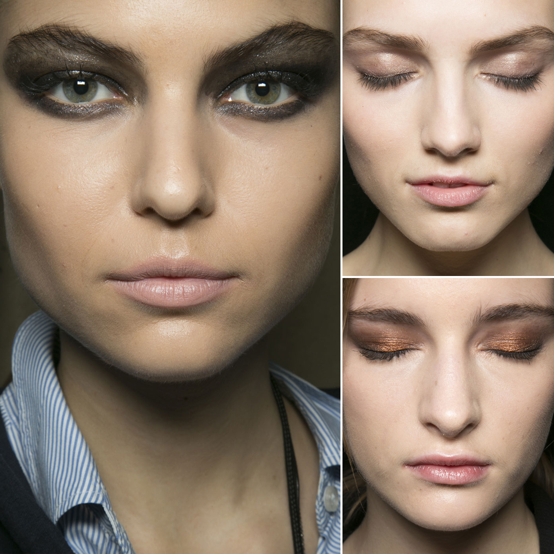 Trend: Metallic Eye Shadows
