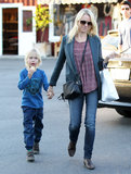 Naomi Watts Brings Her Boys Out in Brentwood and Gears Up For the Oscars