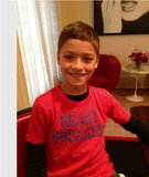 Kelly Ripa's lil heartbreaker showed his Valentine's Day pride this week. Source: Lockerz user KellyRipa
