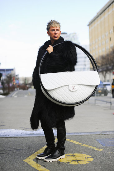 Kyle Anderson&#039;s Chanel Hula Hoop Bag