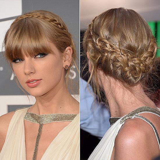 Taylor Swift's Milkmaid Braid