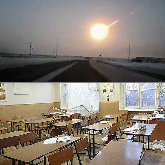Meteor Crash in Russia