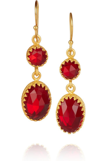 Kevia gold-plated crystal earrings ($43, originally $240) will add a glamorous touch to any look.