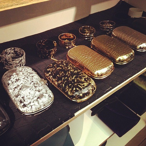 The clutches from Reece Hudson were insanely gorgeous.