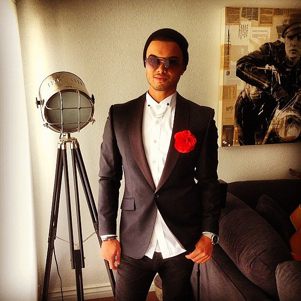 Guy Sebastian looked sharp at the Grammys! Source: Instagram user guysebastian