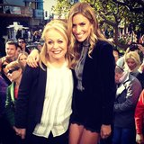 Renee Bargh interviewed Jacki Weaver. Source: Instagram user reneebargh