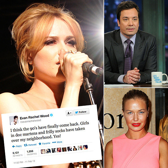 Tweets of the Week: Evan Rachel Wood, Jimmy Fallon, Lara Bingle & More