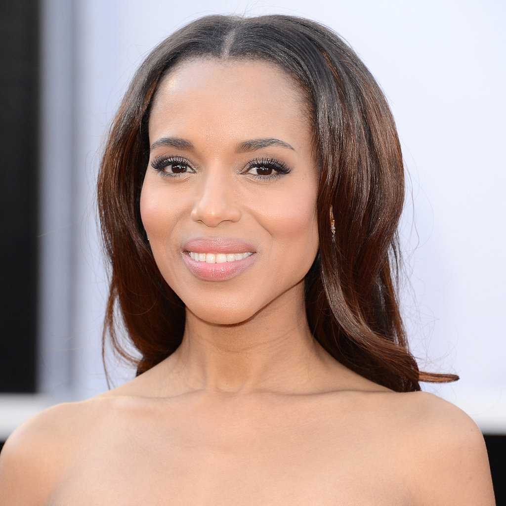 Kerry Washington Oscars 2013 Hair