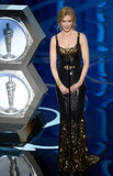 Nicole Kidman took the stage at the 2013 Oscars.