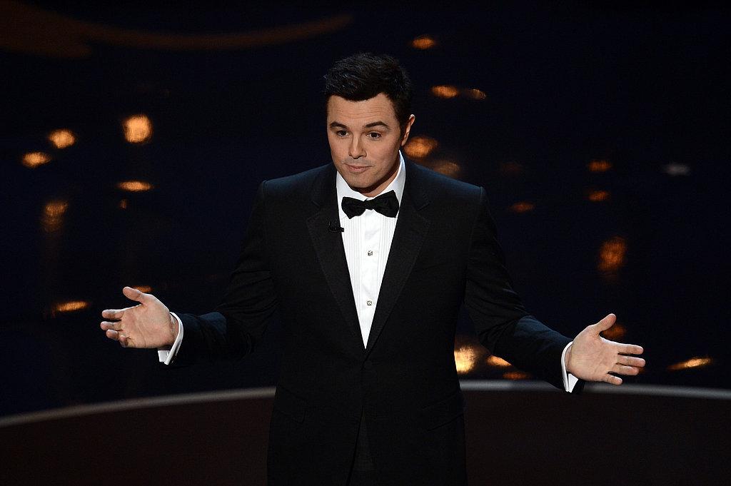 Seth MacFarlane hosted the 2013 Oscars.