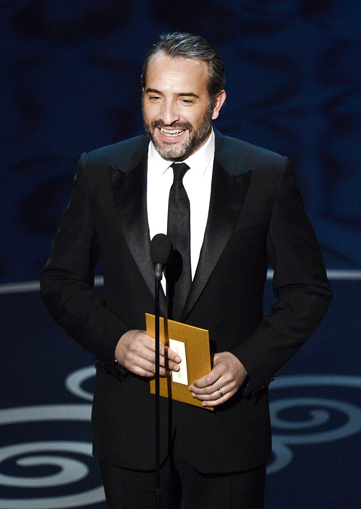 Jean Dujardin presented at the 2013 Oscars.