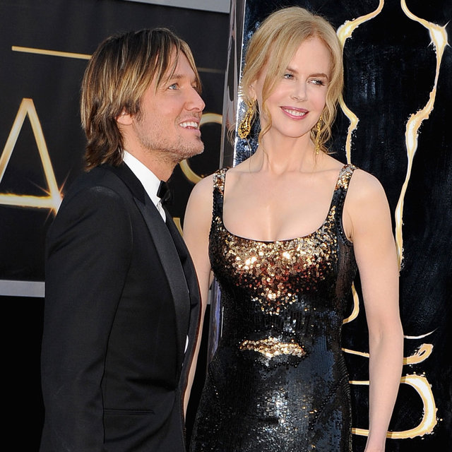 Nicole Kidman and Keith Urban Pictures at 2013 Oscars