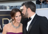 Ben Affleck Walks the Oscars Red Carpet With a Gucci-Clad Jennifer Garner