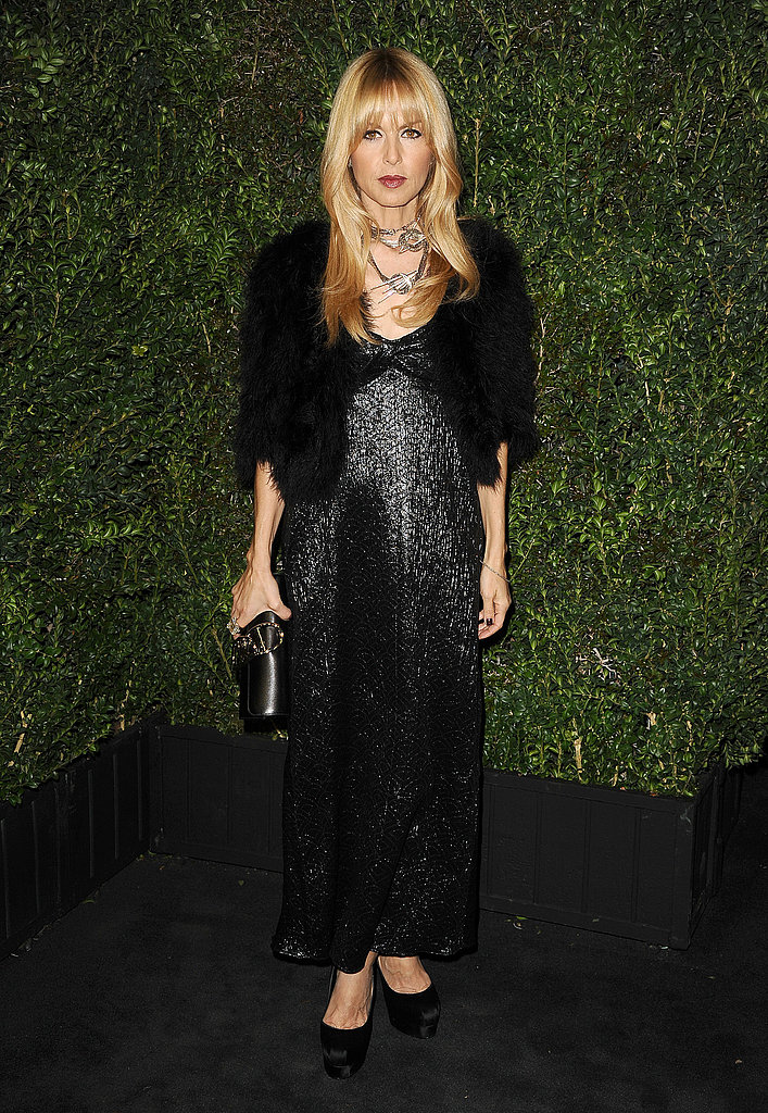 Rachel Zoe went all-black.
