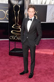 Eddie Redmayne hit the red carpet at the Oscars in a tux.