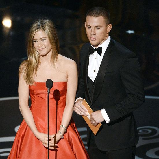 Jennifer Aniston and Channing Tatum Present at the Oscars